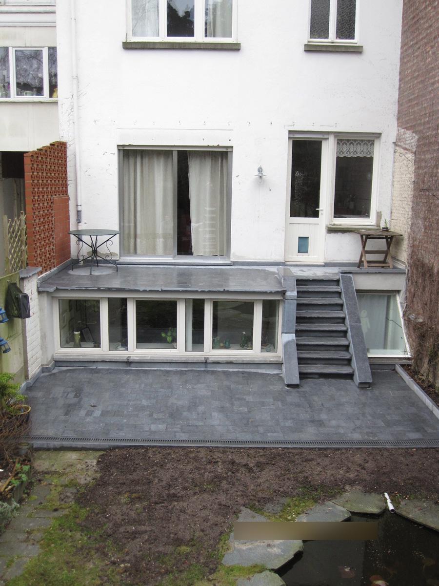 Après: Terrasse après travaux de rénovation